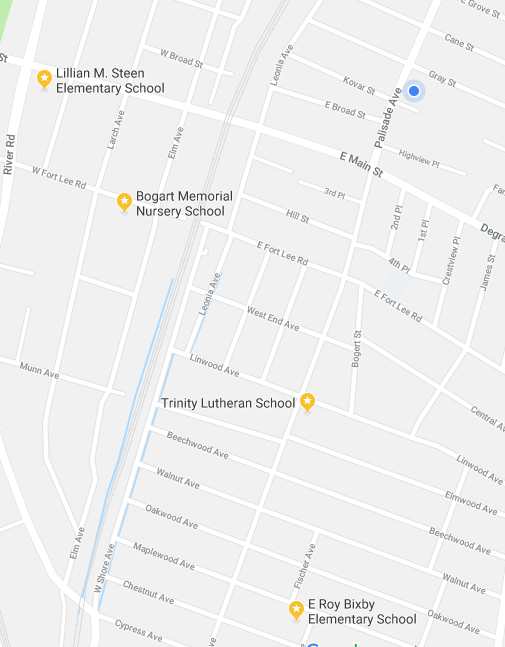 Preschool / Map of Preschool Locations