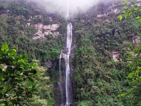 Tour cascada La Chorrera Hiking tour Bogota