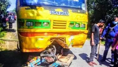 Photo of বগুড়ায় শেরপুরে বাস চাপায় ভ্যান চালকের মৃত্যু, আহত ৪