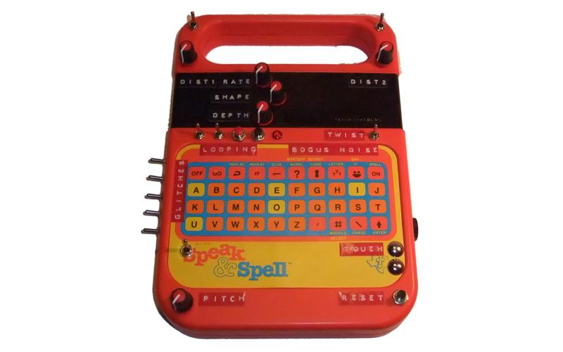Circuit Bending Texas Instruments Speak Spell