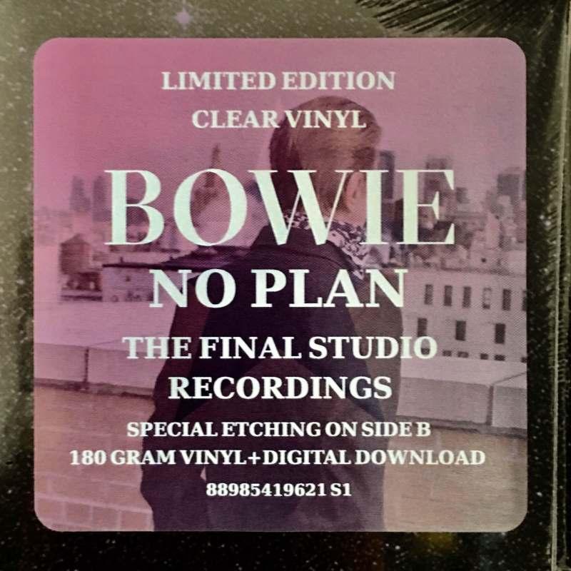 David Bowie No Plan vinile 180 gr.