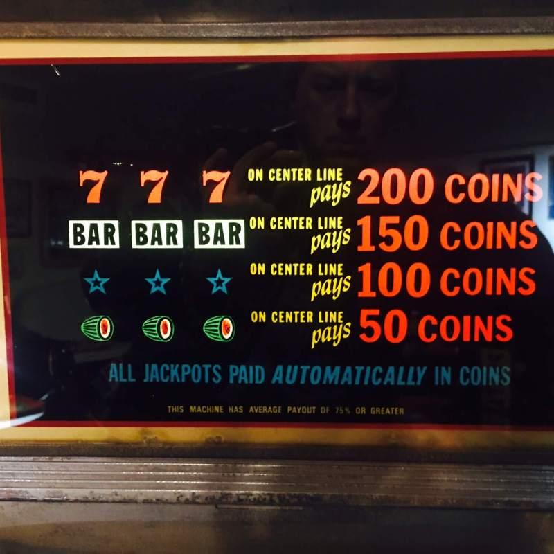 Slot machine Bally anni 60