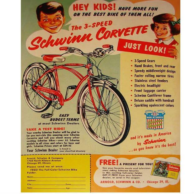 Bicicletta americana
