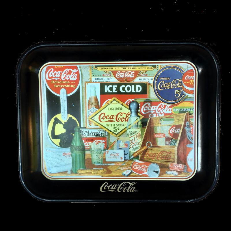 Vassoio Coca Cola Through The Years
