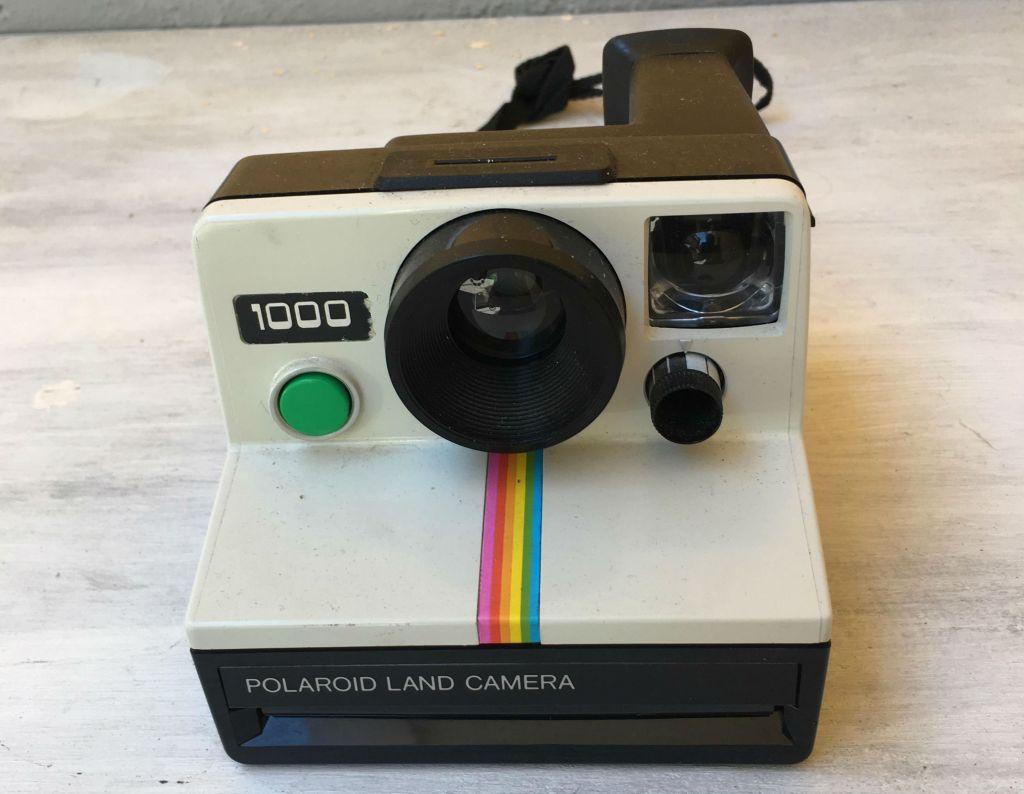 Polaroid OneStep fotocamera storia della polaroid