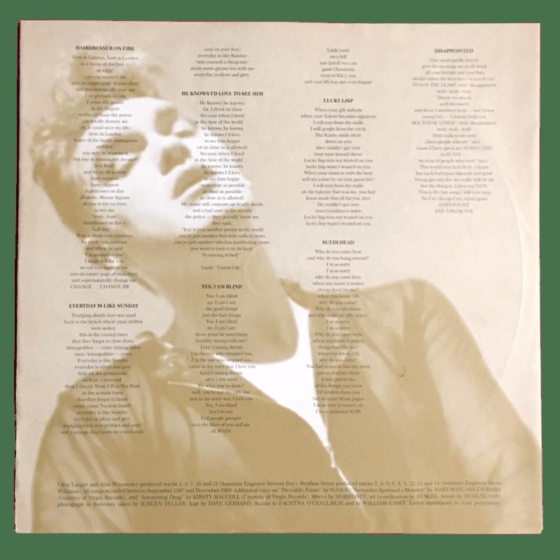 LP Morrissey anni '90