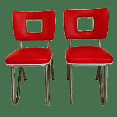 Sedie poltroncine americane anni 50