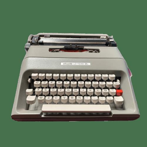 Lettera 35 Olivetti