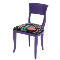 Purple Chair | 'Mid-Century Modern Kate' Designed by ...