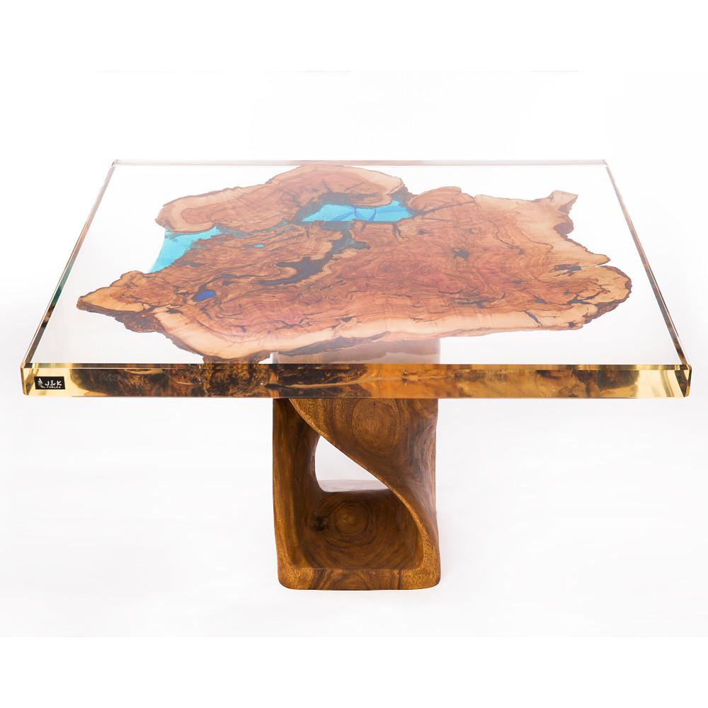art glass coffee table by krzysztof zarycki