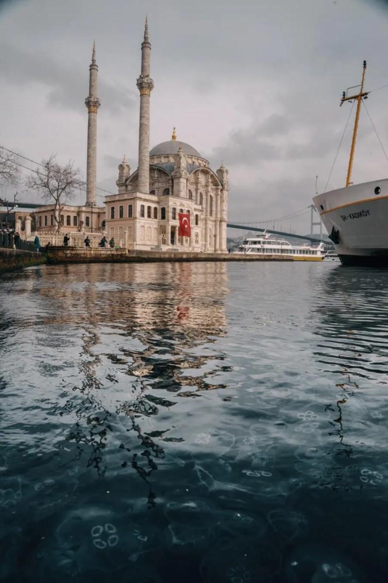 De wijk Ortaköy in Istanbul