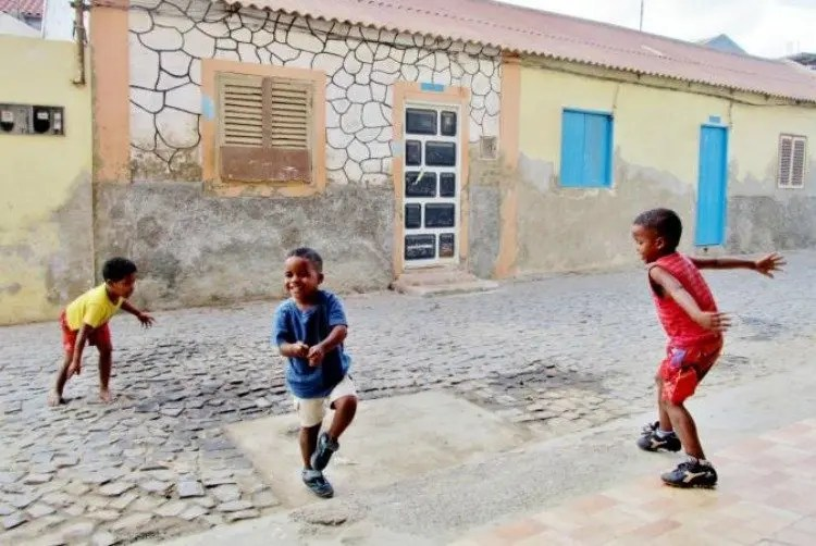 Lokale bevolking van de Kaapverdische Eilanden