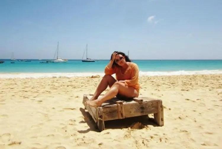 Stranden op Sal in Kaapverdië