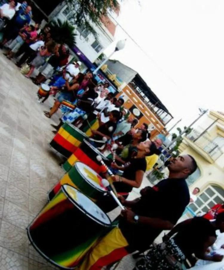 Feest op Santa Maria in Sal