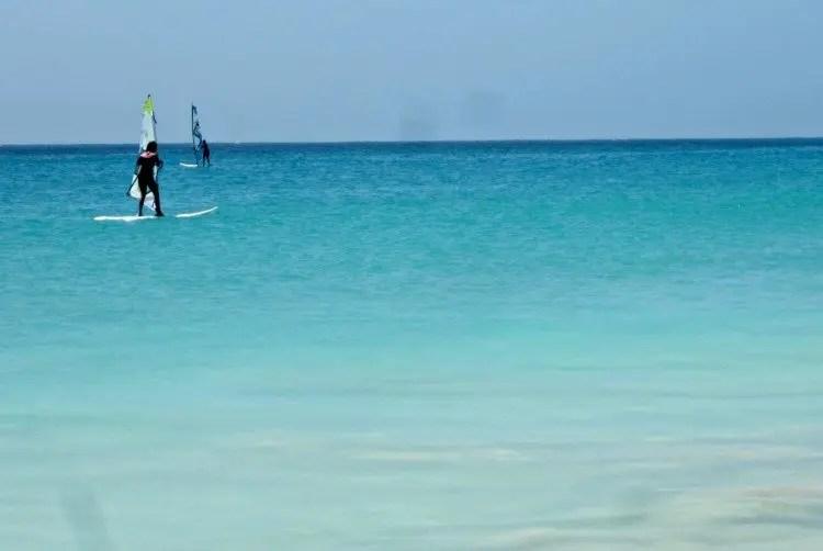 Watersporten op de Kaapverdische Eilanden