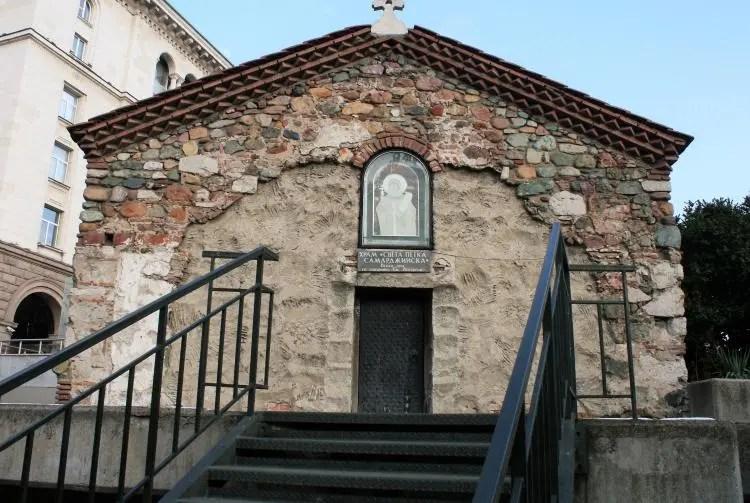 Church of St Petka of the Saddlers Sofia Bulgaria