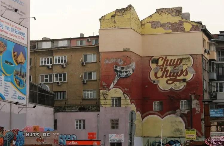Graffiti Sofia Bulgaria Streets