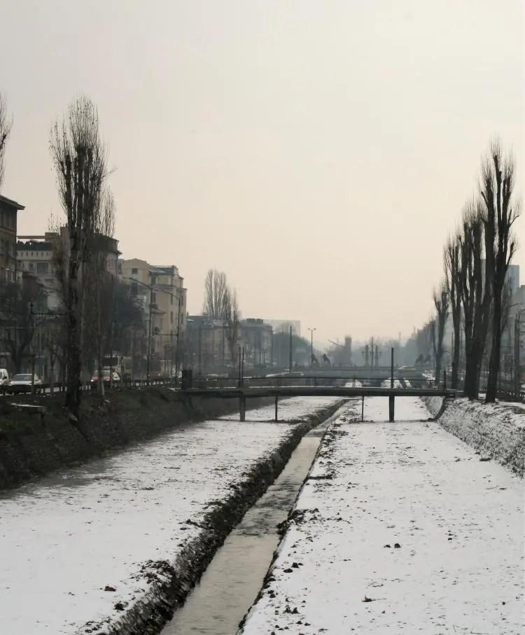 Sneeuw in Sofia