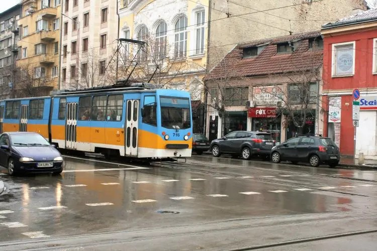 Trams in Sofia