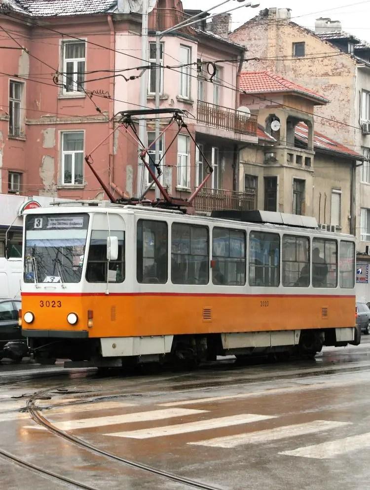 Openbaar vervoer in Sofia