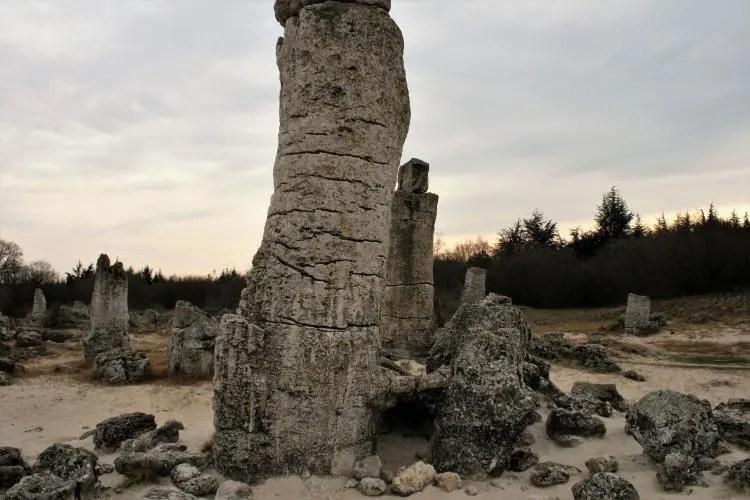 Het stenen bos 'Pobiti Kamani' in Bulgarije