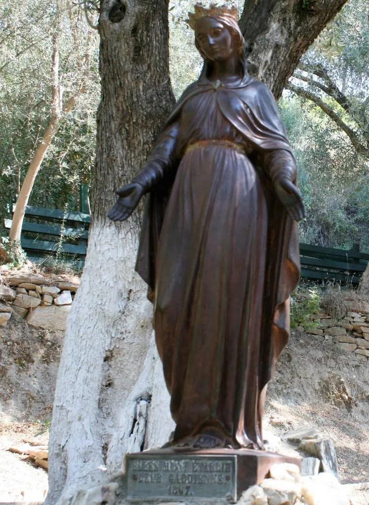 Het huis van heilige maagd Maria in Turkije