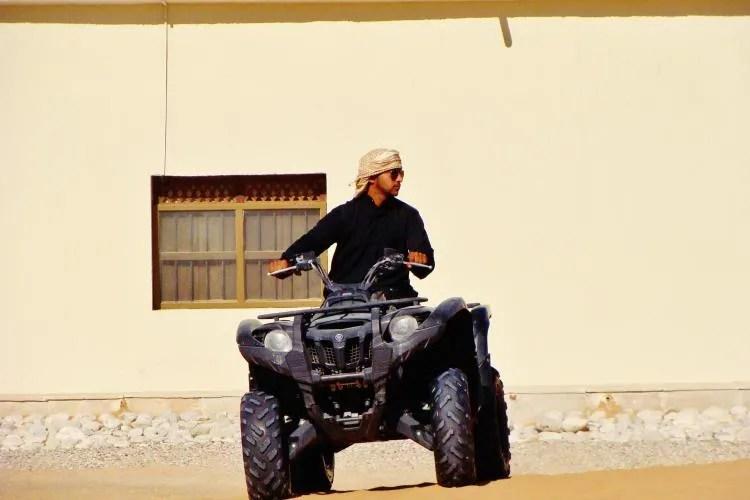 Overnachten in de Omaanse woestijn