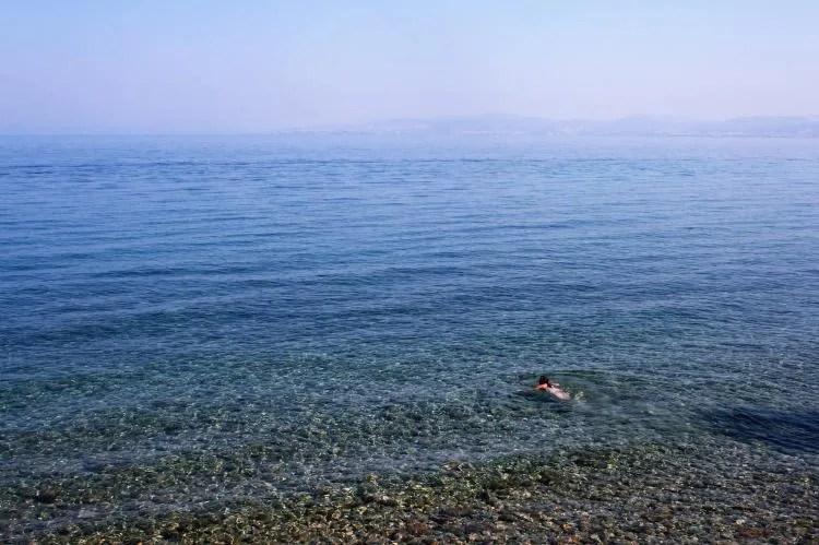 Zwemmen naar Griekenland