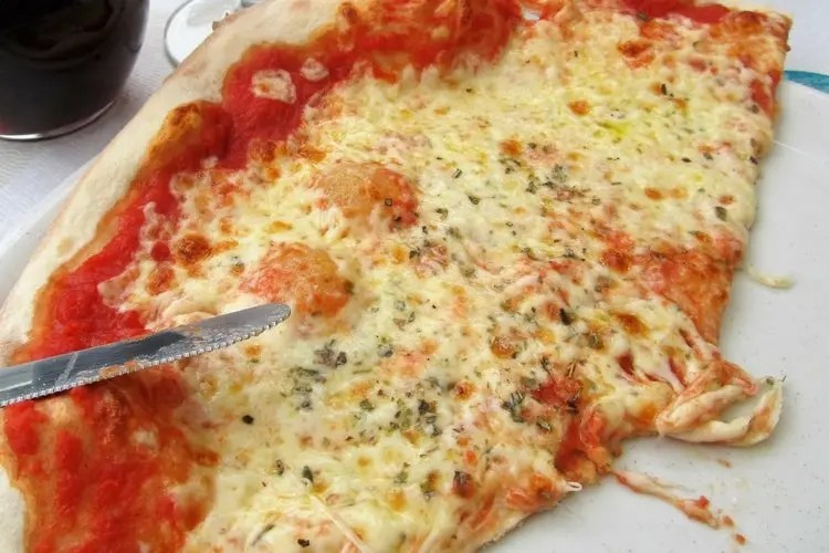 Pizza in Italië