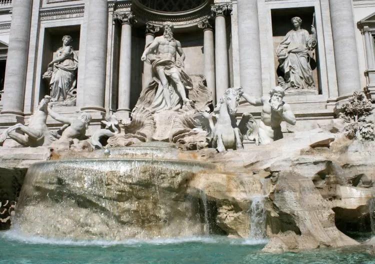 Een bezoek aan de Trevifontein in Rome
