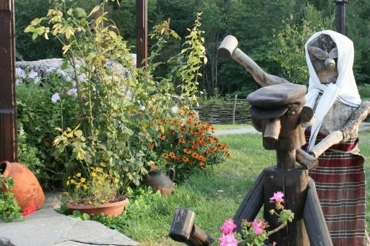 Tuindecoratie bij Complex Barite in Bulgarije