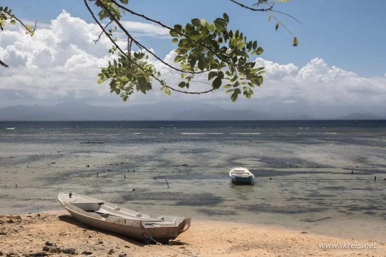 Strand in Indonesië