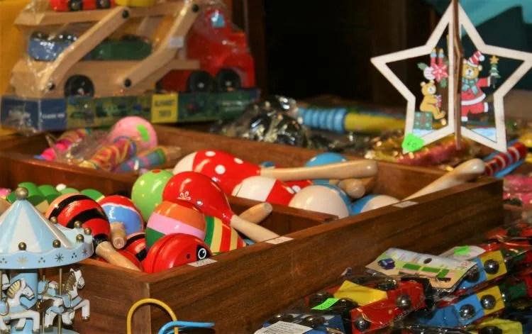 Handgemaakt speelgoed in Praag Tsjechië