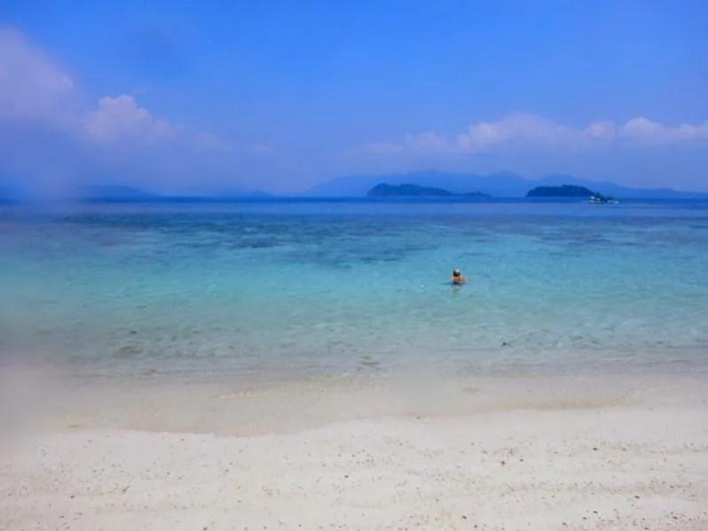 Strand op Koh Wai in Thailand