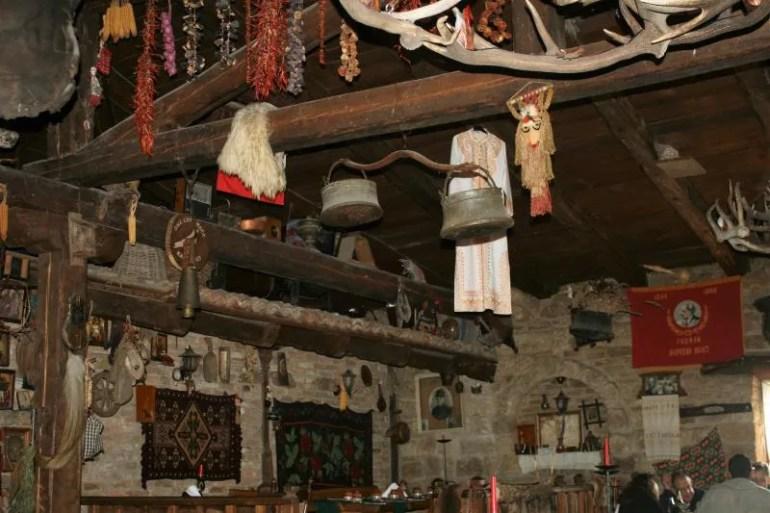Typisch Bulgaars eten bij Kalimanski Han