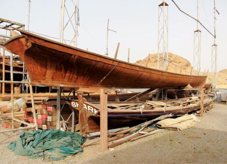 Bezoek de wondere wereld van Dhows in het havenplaatsje Sur in Oman
