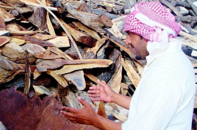 Het havenplaatsje Sur in Oman