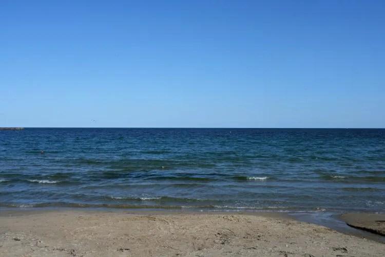 Het strand in Varna