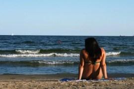 Relaxen op het strand van Varna