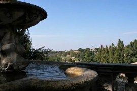 Uitzicht in Viterbo