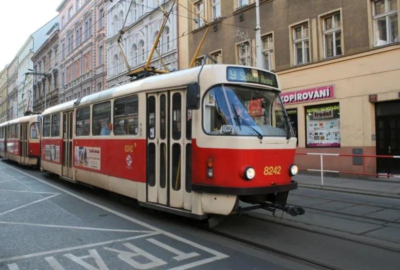 Het Openbaar Vervoer in Praag