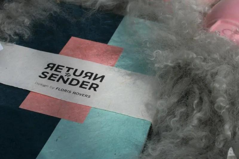 Return to Sender producten van Loktapapier