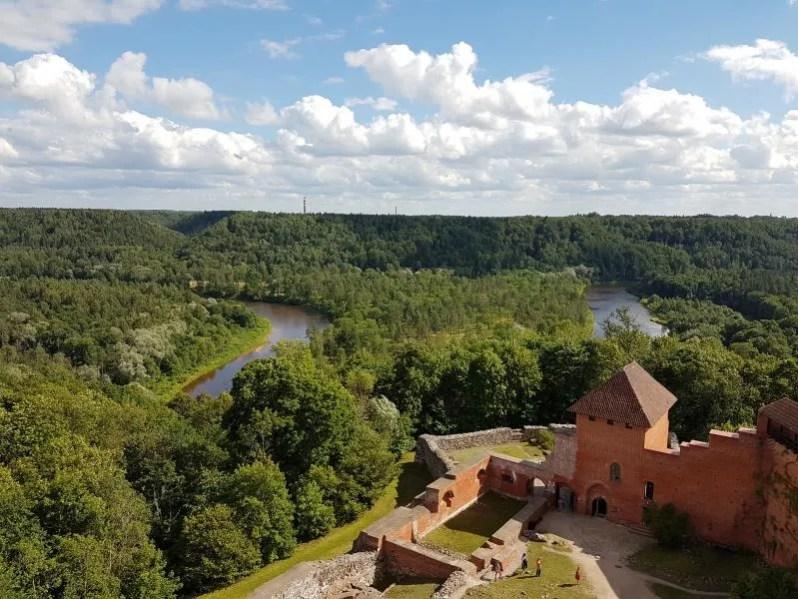 Gauja National Park in Letland