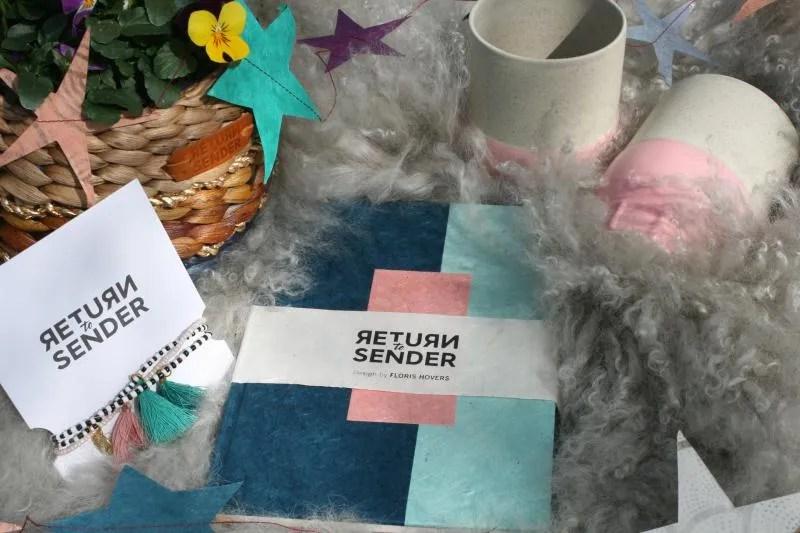 Pakket met producten van Return to Sender