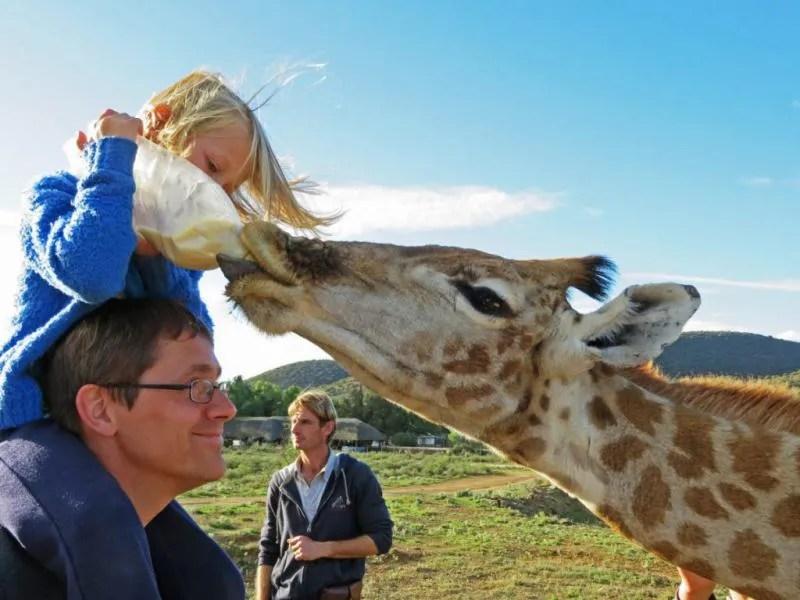 Met kinderen naar Zuid Afrika