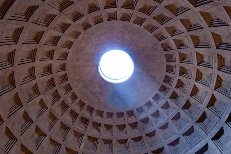 Het Pantheon in Rome