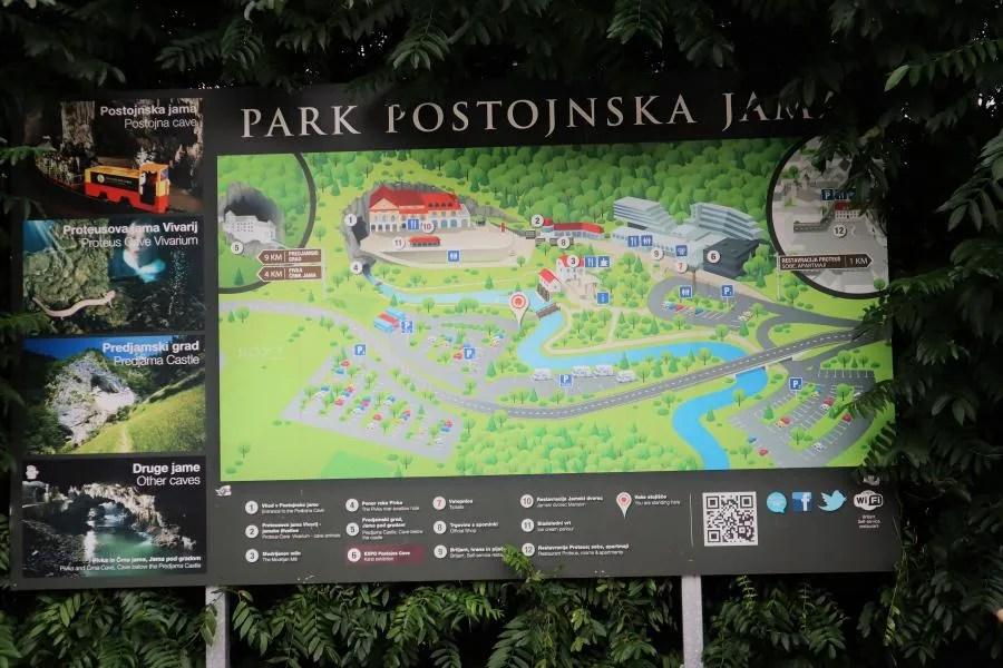 Park Postojnska jama