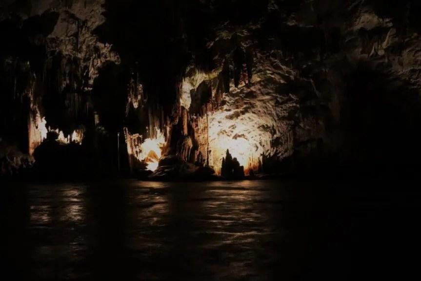 De grotten van Postojna in Slovenië