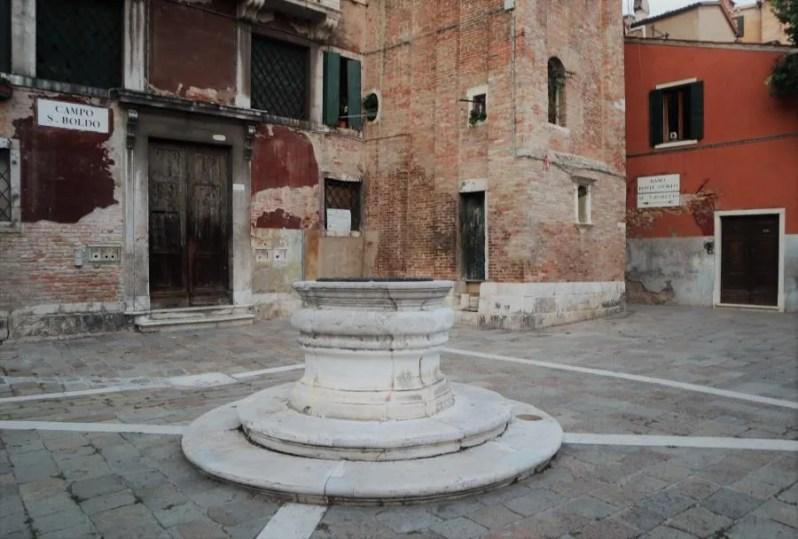 Rustigere wijken in Venetië