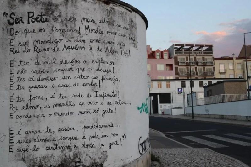 Vijf minder bekende dingen om te doen in Lissabon - Straatkunst